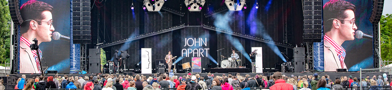 John Apart bei POTSDAM ON STAGE